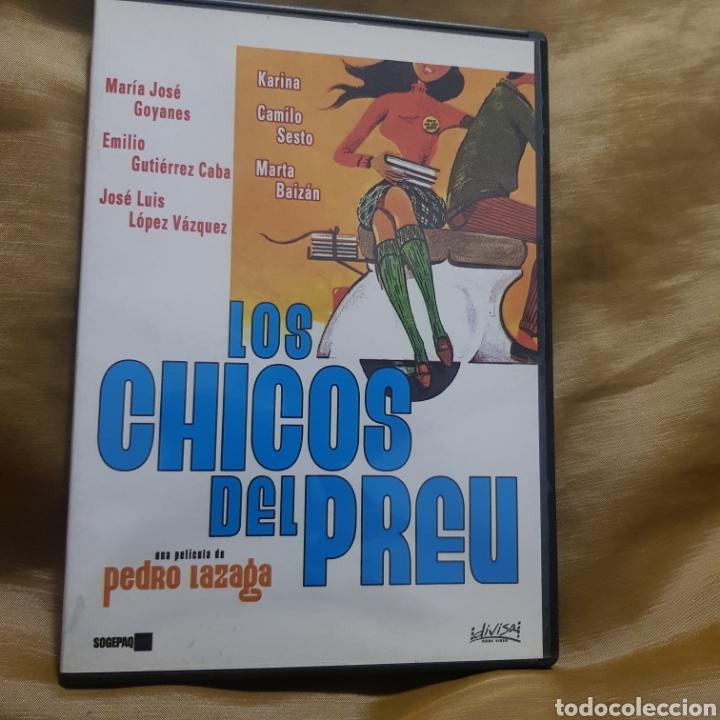 (S234) LOS CHICOS DEL PREU - DVD SEGUNDAMANO (Cine - Películas - DVD)