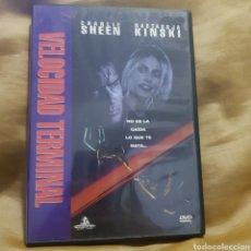 Cine: (S234) VELOCIDAD TERMINAL- DVD SEGUNDAMANO. Lote 182643643