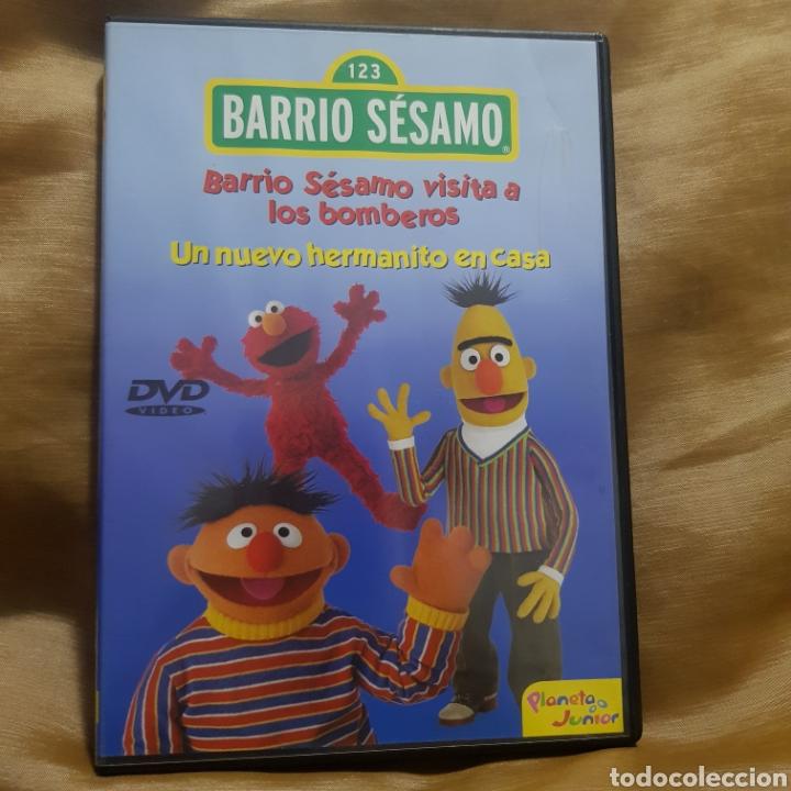 (S234) BARRIO SESAMO UN NUEVO HERMANITO EN CASA - DVD SEGUNDAMANO (Cine - Películas - DVD)
