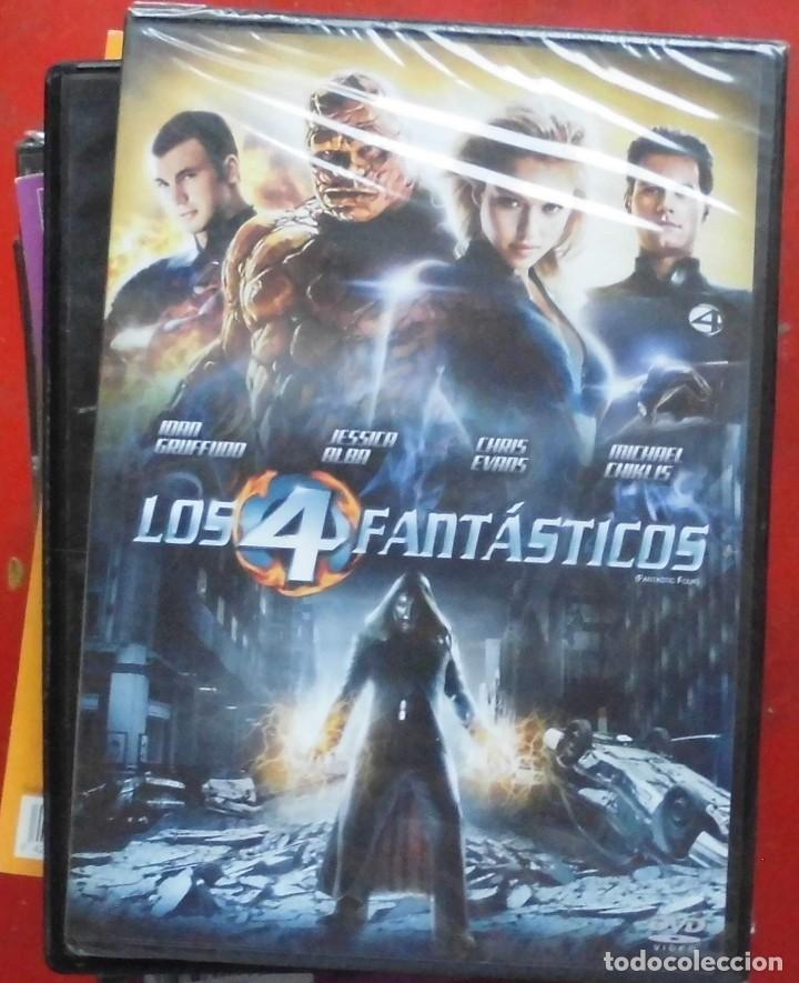 LOS 4 FANTÁSTICOS (Cine - Películas - DVD)