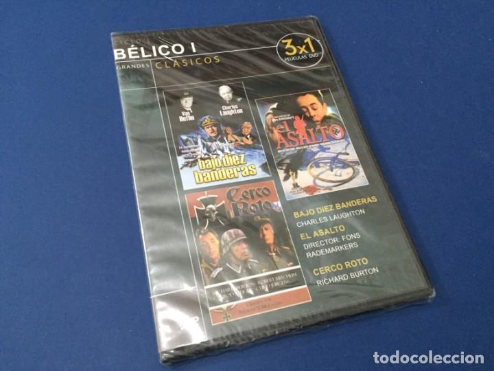 DVD BAJO DIEZ BANDERAS - EL ASALTO - CERCO ROTO PRECINTADO (Cine - Películas - DVD)