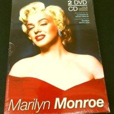 Cine: MARILYN MONROE - PACK COLECCIONISTA 2 DVDS Y 1 CD (16 CANCIONES) - ***ENVIO GRATIS*** -. Lote 182688262