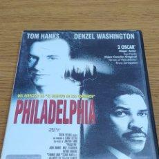 Cine: DVD PHILADELPHIA. Lote 182689886