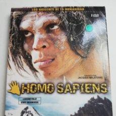 Cine: HOMO SAPIENS. DIRIGIDO POR JACQUES MALATERRE (DVD). Lote 182690923