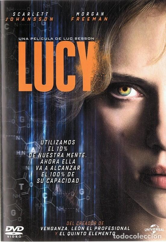LUCY SCARLETT JOHANSSON & MORGAN FREEMAN (Cine - Películas - DVD)