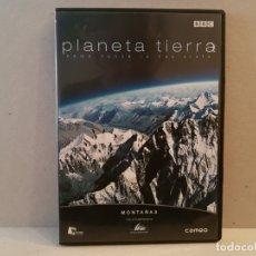Cine: PLANETA TIERRA COMO NUNCA LO HAS VISTO MONTAÑAS EN DVD BUEN ESTADO VER FOTOS. Lote 182719541