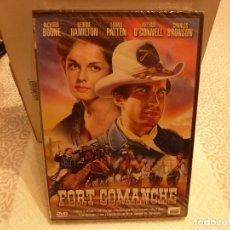 Cine: DVD WESTERN-(PRECINTADA)-FORT COMANCHE. Lote 182738313