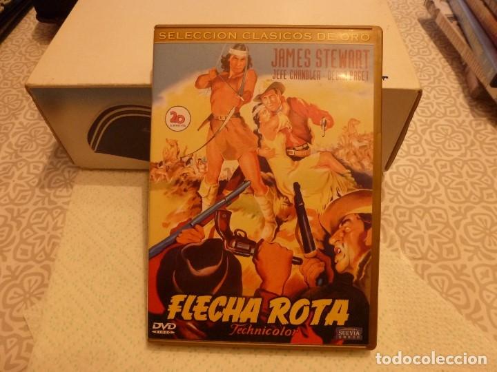 DVD WESTERN-FLECHA ROTA (Cine - Películas - DVD)
