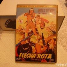 Cine: DVD WESTERN-FLECHA ROTA. Lote 182738686