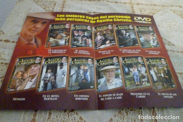 Cine: 11 DVD COLECCION AGATHA CHRISTIE-BBC-LLAMENTOL-DVD VIDEO - Foto 6 - 182740296