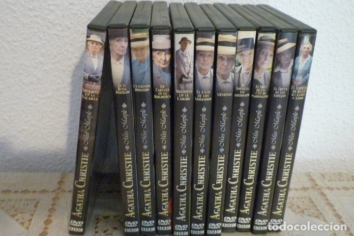 Cine: 11 DVD COLECCION AGATHA CHRISTIE-BBC-LLAMENTOL-DVD VIDEO - Foto 3 - 182740296