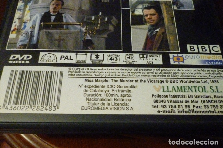 Cine: 11 DVD COLECCION AGATHA CHRISTIE-BBC-LLAMENTOL-DVD VIDEO - Foto 4 - 182740296