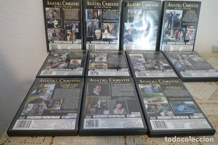 Cine: 11 DVD COLECCION AGATHA CHRISTIE-BBC-LLAMENTOL-DVD VIDEO - Foto 5 - 182740296