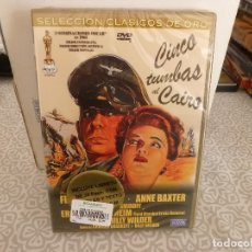 Cine: DVD BELICO-(PRECINTADA)- CINCO TUMBAS AL CAIRO. Lote 182750987