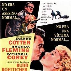 Cine: EL ASESINO ANDA SUELTO (THE KILLER IS LOOSE). Lote 150917793