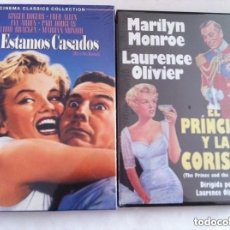 Cine: DVD . - MARILYN MONROE - 2 DVD- PRECINTADOS. Lote 182829238