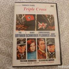 Cine: DVD ACCION- TRIPLE CROSS. Lote 182843787