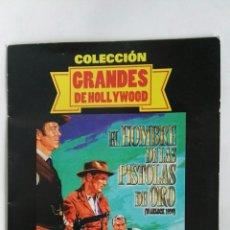 Cine: EL HOMBRE DE LAS PISTOLAS DE ORO DVD. Lote 182851315