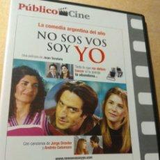 Cine: NO SOS VOS SOY YO LIQUIDACION DVD. Lote 182883551