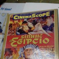 Cine: SINUHE EL EGIPCIO. DVD+LIBRETO. Lote 182940415
