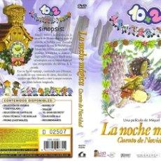Cine: 10+2 LA NOCHE MAGICA , CUENTO DE NAVIDAD - -DVD NUEVO Y PRECINTADO. Lote 182978441
