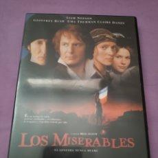 Cine: DVD. LOS MISERABLES. DESCATALOGADO. CON LIAM NEESON Y UMA THURMAN.. Lote 182986258