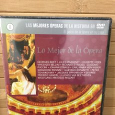 Cine: LO MEJOR DE LA ÓPERA ( 0) DVD SLIM - PRECINTADO -. Lote 182986382