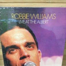 Cine: ROBBIE WILLIAMS ( LIVE AT THE ALBERT ) DVD - PRECINTADO -. Lote 182986578