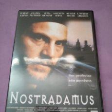 Cine: DVD. NOSTRADAMUS. CON JULIA ORMOND, ASSUMPTA SERNA Y RUTGER HAUER.. Lote 182986632