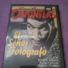 Cine: DVD. EL SEÑOR FOTÓGRAFO. CANTINFLAS.. Lote 182986777