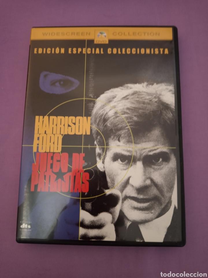 DVD. JUEGO DE PATRIOTAS. CON HARRISON FORD. (Cine - Películas - DVD)