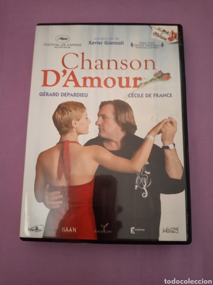 DVD. CHANSON D'AMOUR. DESCATALOGADO. CON GERARD DEPARDIEU. (Cine - Películas - DVD)