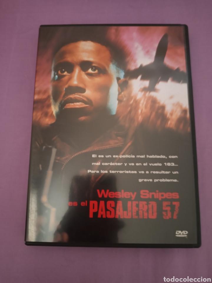 DVD. PASAJERO 57. CON WESLEY SNIPES. (Cine - Películas - DVD)
