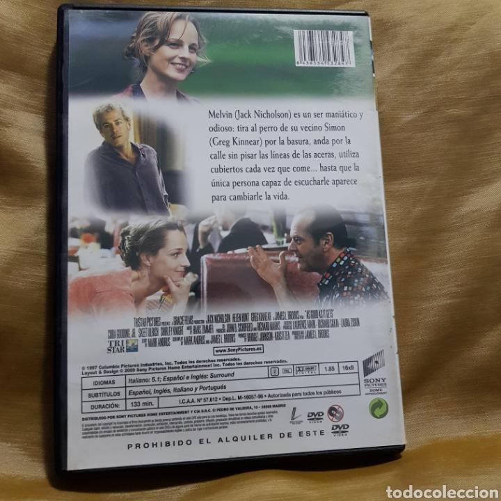 Cine: (S232)mejor imposible - DVD SEGUNDAMANO - Foto 2 - 182989132