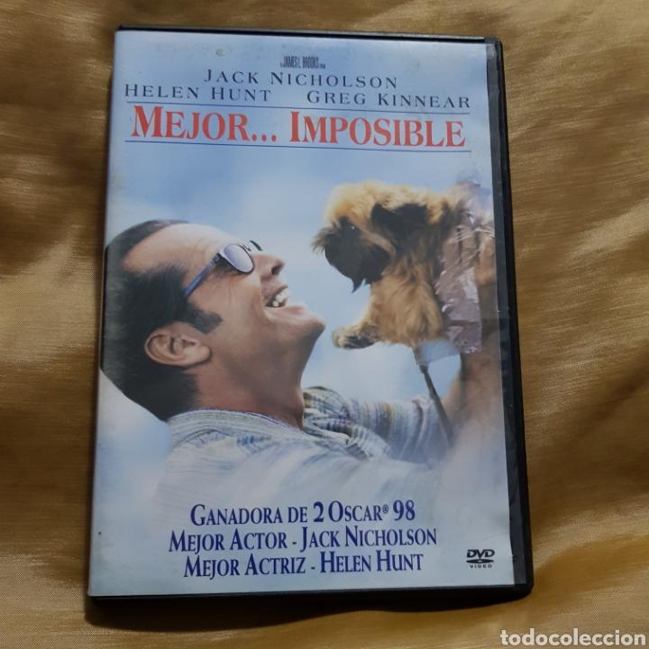 (S232)MEJOR IMPOSIBLE - DVD SEGUNDAMANO (Cine - Películas - DVD)