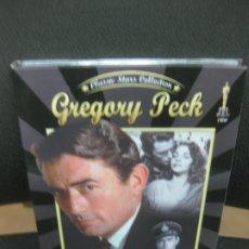 Cine: GREGORY PECK. CLASSIC STARS COLLECTION. 2 DVD. DUELO AL SOL - LA LLANURA ROJA. . Lote 182989798