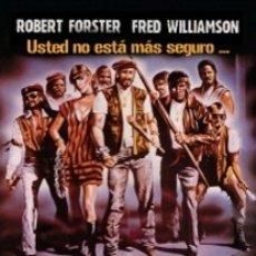 Cine: VIGILANTE DIRECTOR: WILLIAM LUSTIG ACTORES: ROBERT FORSTER, FRED WILLIAMSON, RICHARD BRIGHT. Lote 183002746