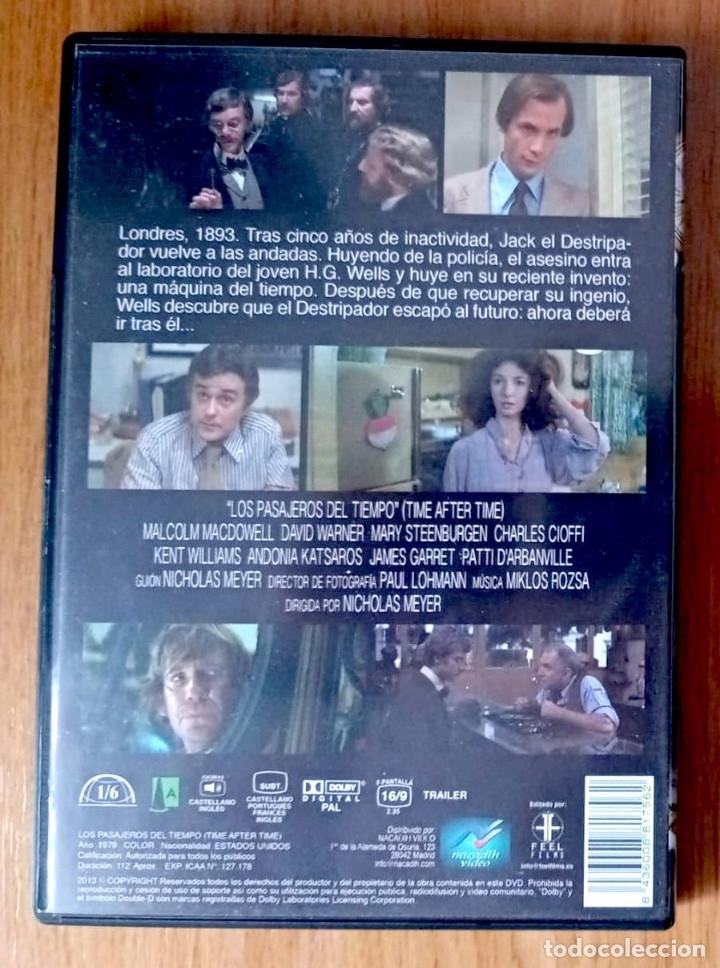Cine: LOS PASAJEROS DEL TIEMPO (N MEYER) -DVD - Foto 2 - 183075938