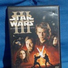 Cine: DVD STAR WARS III.LA VENGANZA DE LOS SITH.. Lote 183217813