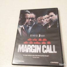 Cine: TEASLI. MARGIN CALL. KEVIN SPACEY. JEREMY IRONS, MARY MCDONNELL, DEMI MOORE. PAUL BETANY. Lote 183218285