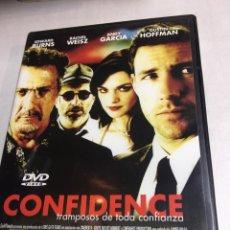 Cine: DVD CONFIDENCE - EDWARD BURNS. Lote 183259268