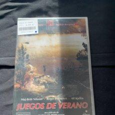 Cine: (A13) JUEGOS DE VERANO ( DVD NUEVO PRECINTADO ). Lote 183362932