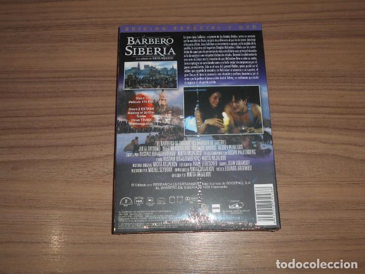 Cine: EL BARBERO de SIBERIA Edicion Especial 2 DVD de NIKITA MIJALKOV Julia Ormond NUEVA PRECINTADA - Foto 2 - 194350637