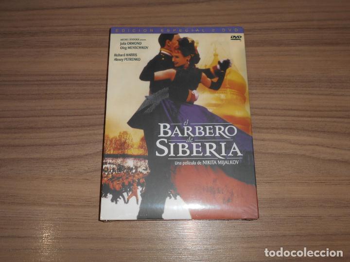 EL BARBERO DE SIBERIA EDICION ESPECIAL 2 DVD DE NIKITA MIJALKOV JULIA ORMOND NUEVA PRECINTADA (Cine - Películas - DVD)