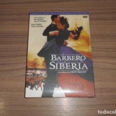 Cine: EL BARBERO DE SIBERIA EDICION ESPECIAL 2 DVD DE NIKITA MIJALKOV JULIA ORMOND NUEVA PRECINTADA. Lote 194350637