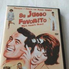Cine: DVD- SU JUEGO FAVORITO - PRECINTADO. Lote 183388297