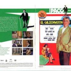 Cine: EL CALZONAZOS, CON PACO MARTÍNEZ SORIA. DVD.. Lote 183398581