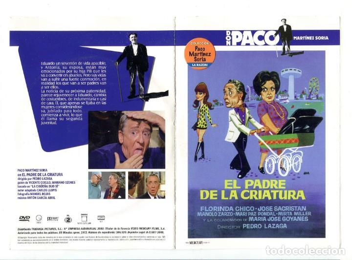 EL PADRE DE LA CRIATURA, CON PACO MARTÍNEZ SORIA. DVD. (Cine - Películas - DVD)