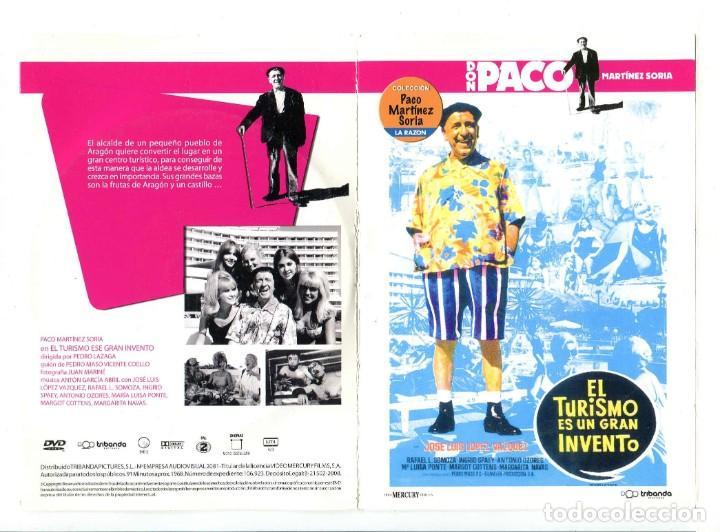 EL TURISMO ES UN GRAN INVENTO, CON PACO MARTÍNEZ SORIA. DVD. (Cine - Películas - DVD)