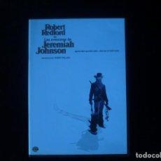 Cine: LAS AVENTURAS DE JEREMIAH JOHNSON - DVD COMO NUEVO . Lote 183430350